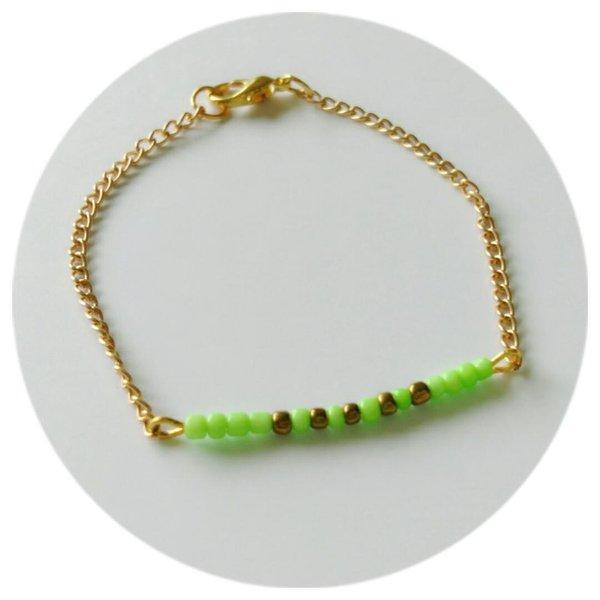 Les petits bracelets flashys !- L'assemblage