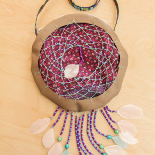 Sac Dreamcatcher- Décoration du sac