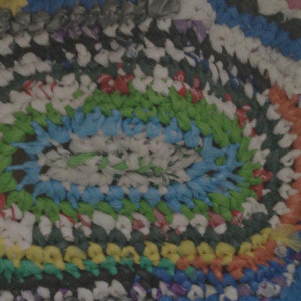 Du crochet avec des sacs en plastique- Faire du crochet!