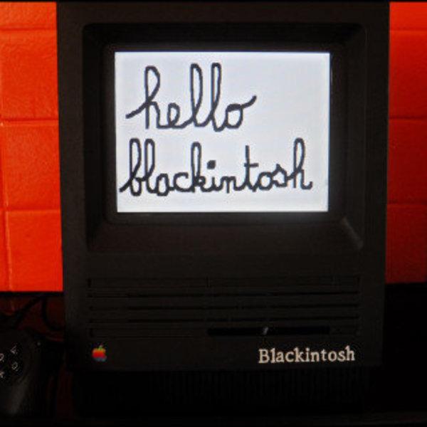 Blackintosh- Assemblage final, Peinture, Déco