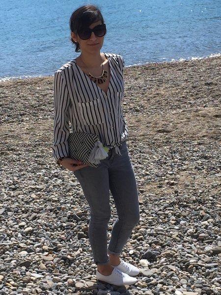 Mon sac cabas adapté pour Volotea et pour vos virées à la plage- Allez vous balader ou faire des emplettes avec votre tout nouveau sac