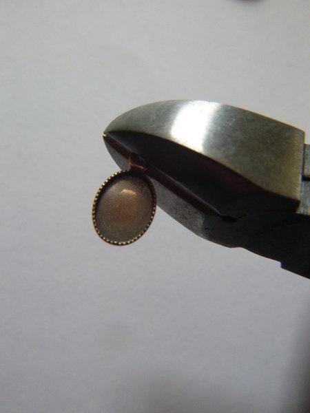 Serre-tête étincelant et vintage pour un mariage- Couper les anneaux des sertis