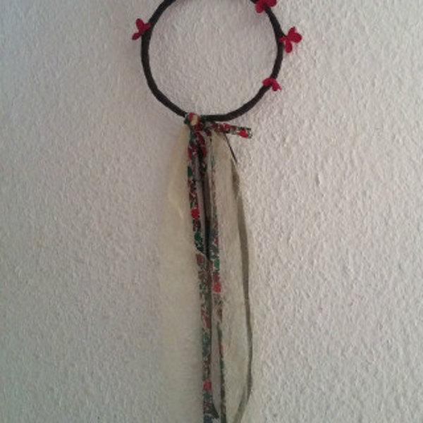 Une jolie couronne pour le cortège- Mise en place des noeuds