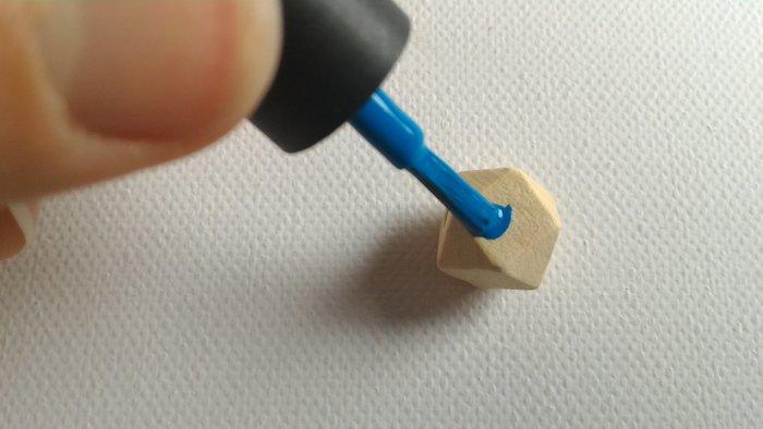 Boucles d'oreilles- Peindre les perles