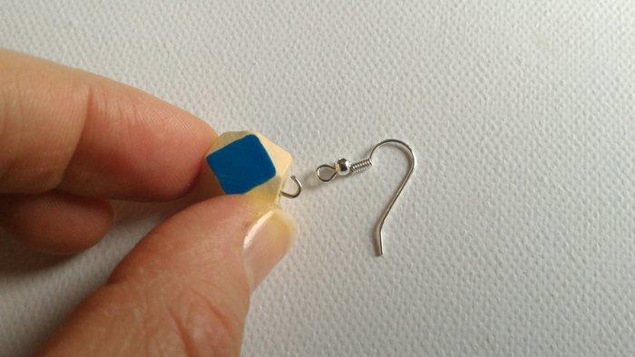 Boucles d'oreilles- Finaliser le bijou