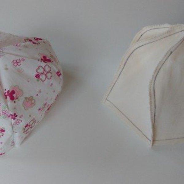 """Casquette """"Gavroche"""" réversible- Assemblage des bonnets"""