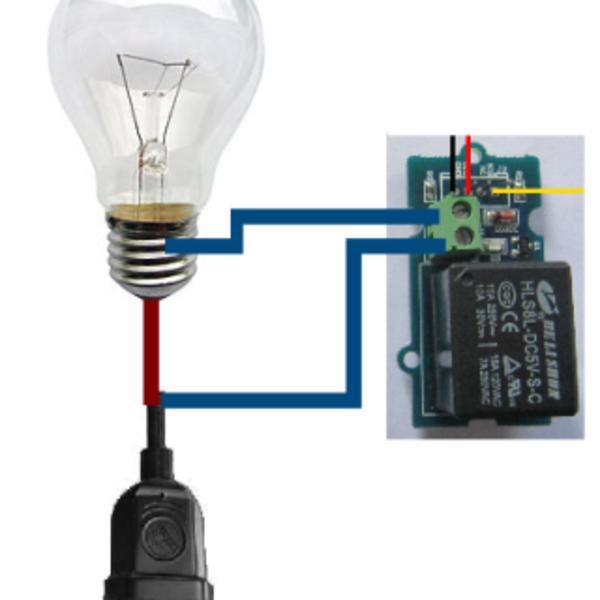 Une lampe hors du commun- Mise en place de l'hardware