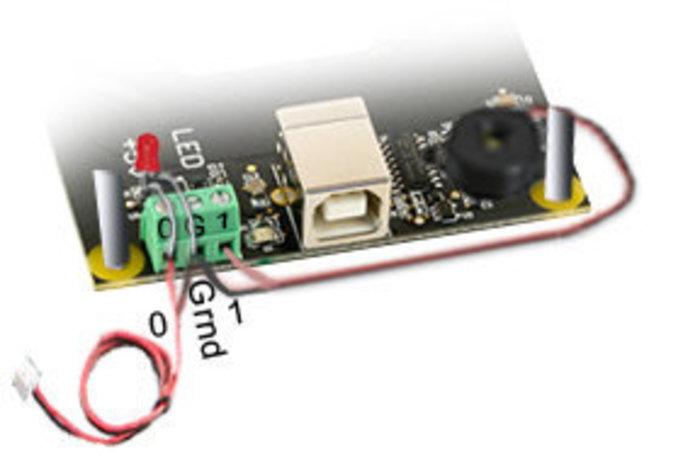 Monnayeur RFID (sans contact)- Connexion