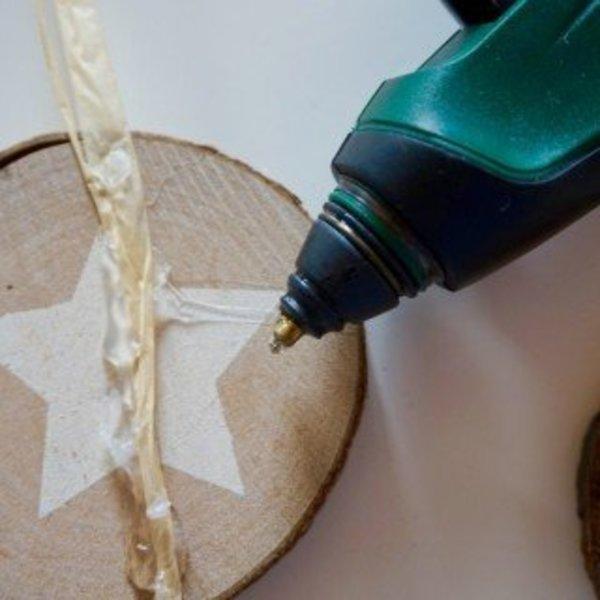 DIY : Décoration murale fleurie- Le montage