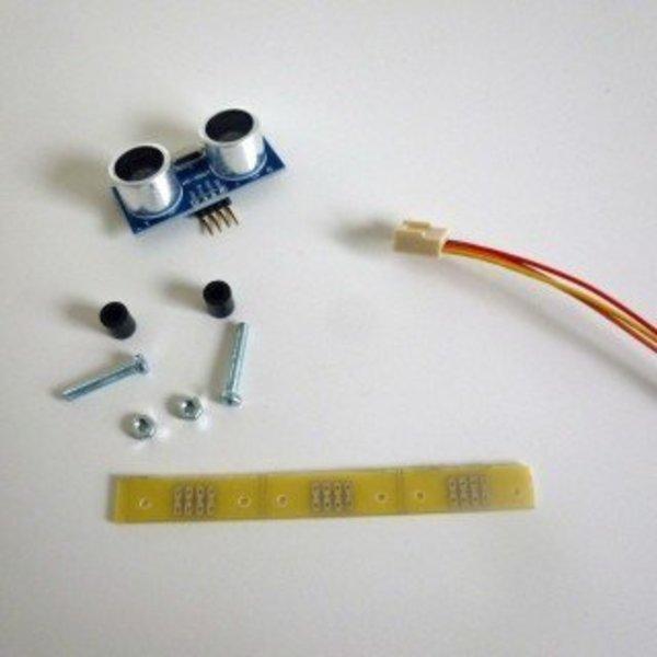 Robot éviteur d'obstacles- Capteurs à ultrasons