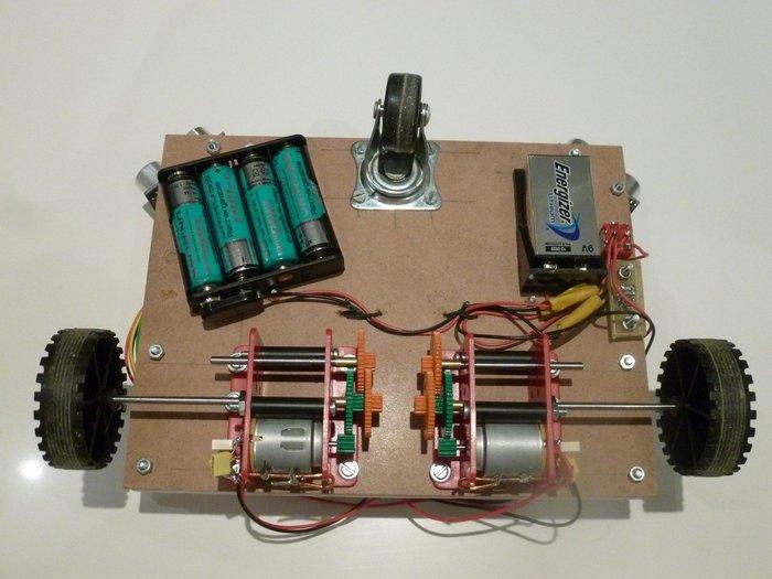 Robot éviteur d'obstacles- Intégration de l'ensemble