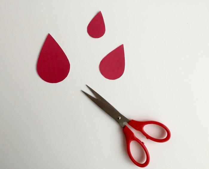 Parapluie anti-grisaille- Préparation