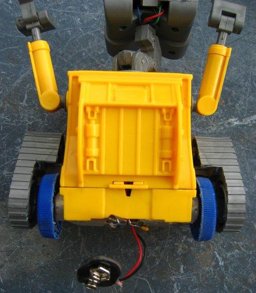 WALL-E autonome- Assemblage final