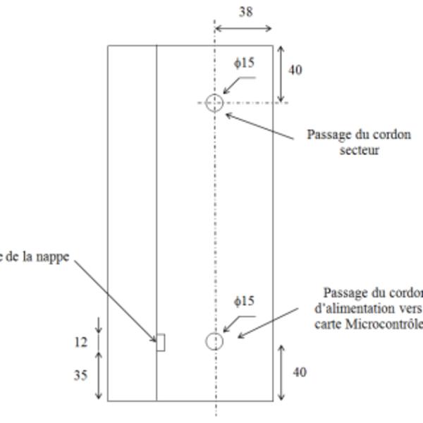 CASA : Centrale Automatique de Surveillance d'Aquarium- Dossier de fabrication