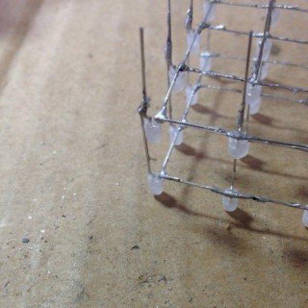Arduino LED cube- Souder les LEDS