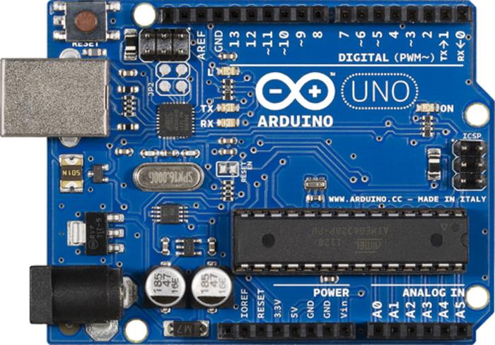 Arduino LED cube- Construire le circuit
