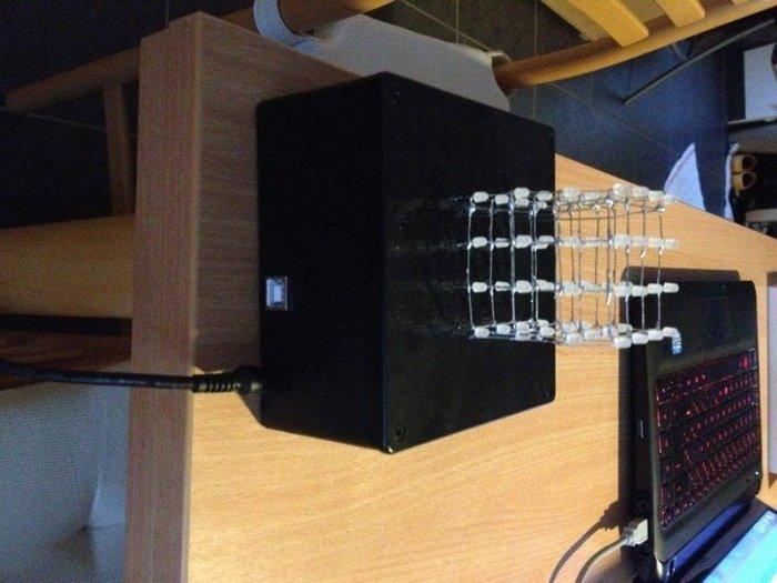 Arduino LED cube- Mise en place dans la boite
