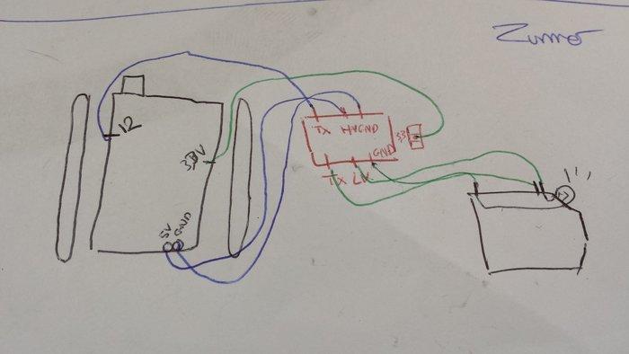 Mini-tank controlé à distance (1,5KM !)- Plan de montage