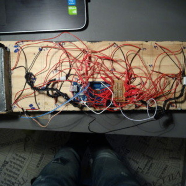 Un chronomètre géant automatique- Construction et soudure