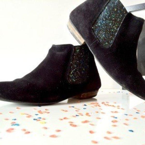 Mes boots à paillettes- Mettez en plein les yeux avec vos bottines à paillettes