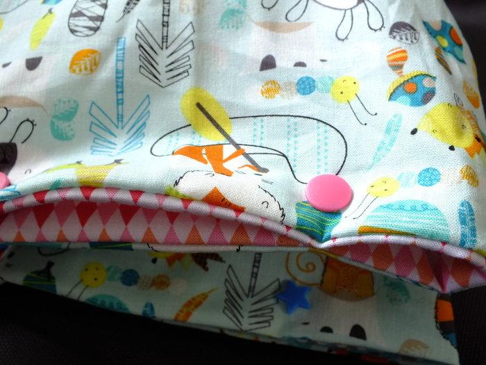 Des jolis range pyjama …- Finitions