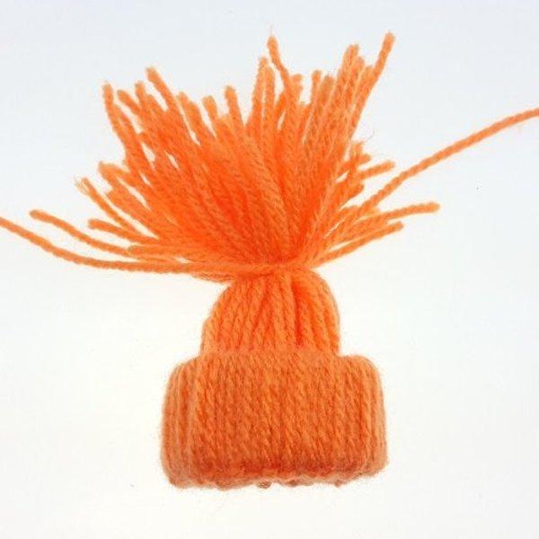 Mini Bonnet Pompon Décoratif- Finir le bonnet Pompon