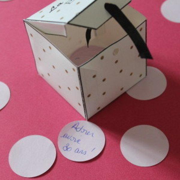 DIY « LA HAPPY BOX »- TA-DAAAAM