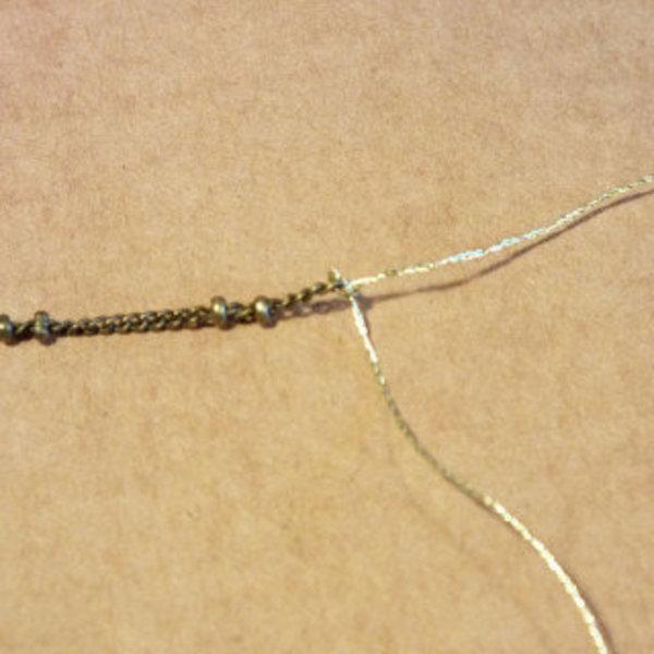 Un sautoir lumineux et coloré- 2ème collier