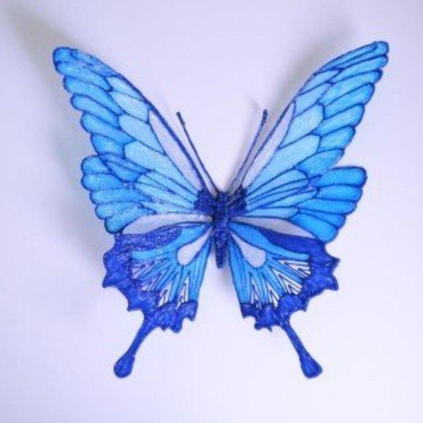 Créez des papillons en 3D- Assemblage et finition