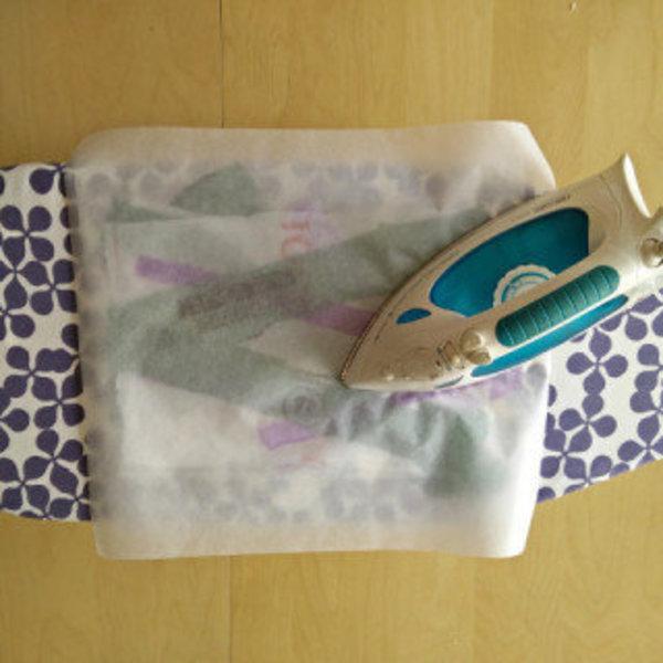 Un portefeuille en sacs plastiques fusionnés- Fusionner des sacs plastiques