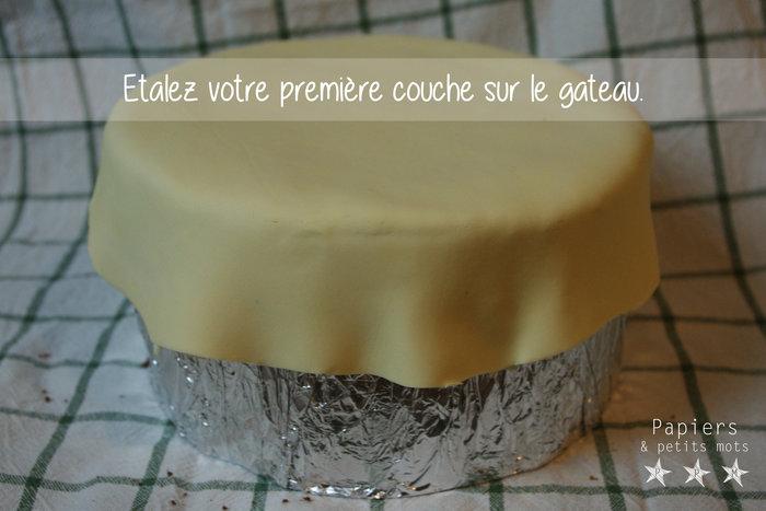 Gâteau d'anniversaire Petit Ours Brun- Décoration en pâte à sucre