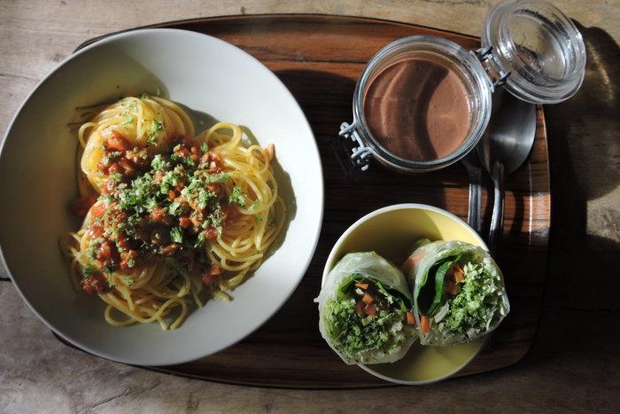 Spaghettis PSTaise- Cuisson de la sauce