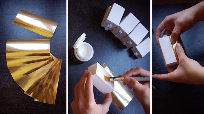 Calendrier de l'avent Miwitipee- la papier doré, il emballe !