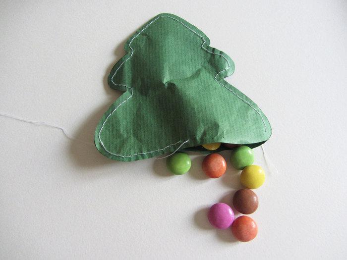 Pochettes surprises de l'avent- Remplir et fermer les pochettes
