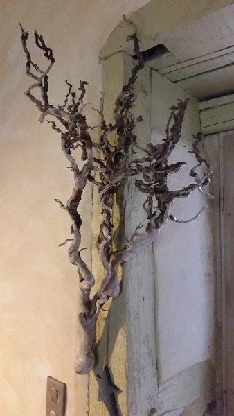 Calendrier de l'avent pour mon petit Paul- Préparation de la branche (ou de la racine dans mon cas)