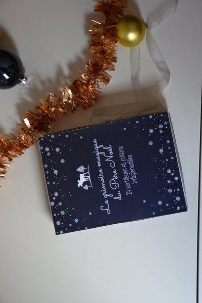 Le livre magique du père Noël- Remplir le livre