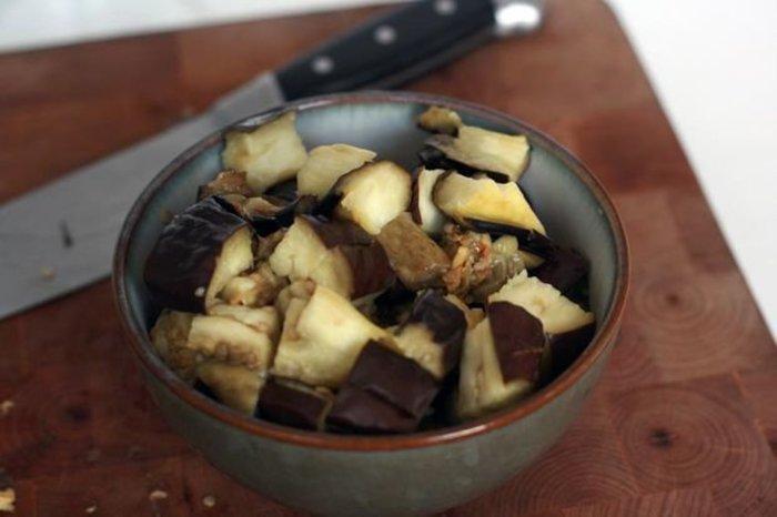 Recette de la sauce bolognaise végétarienne- préparation des ingrédients