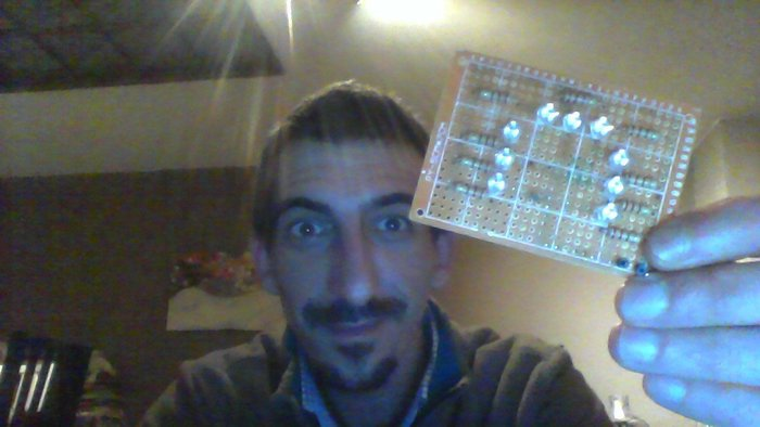Module d'éclairage leds infrarouges pour Cam NoIR sur Raspberry Pi- Dans le concret, ça donne quoi?