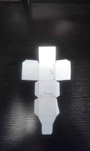 Calendrier de l'avent- Tracer ou imprimer la boite sur papier 210 g