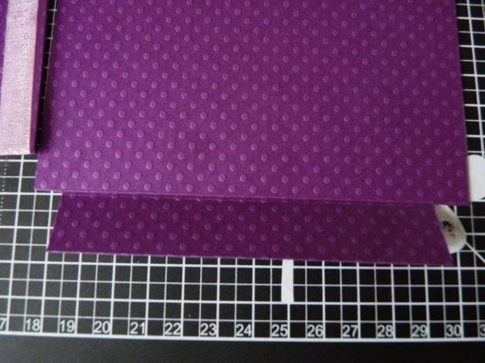 Carte a tirette {Faire-part}- Assembler 4/7