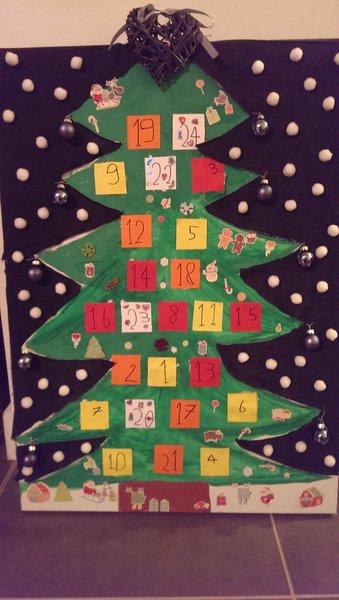 Calendrier de l'Avent Sapin de Noël- On applaudit !