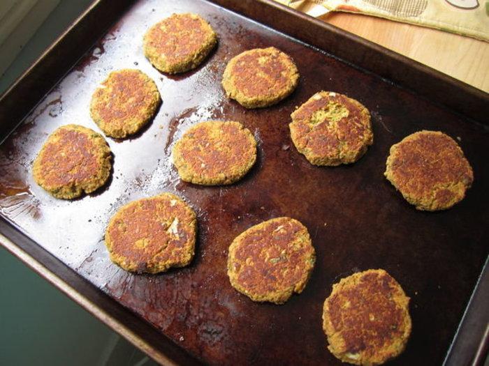 Faire des Falafels cuits- Cuisson !