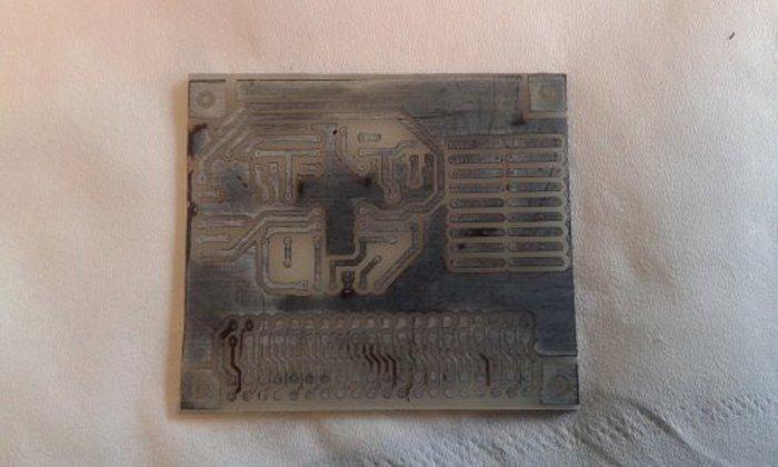 fabrication de circuits imprimés facile- La gravure.