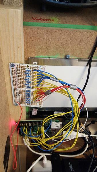 Borne d'arcade- Préparer le câblage