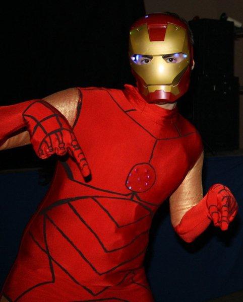 Fabriquer un costume d'Iron Man- La fête en iron man