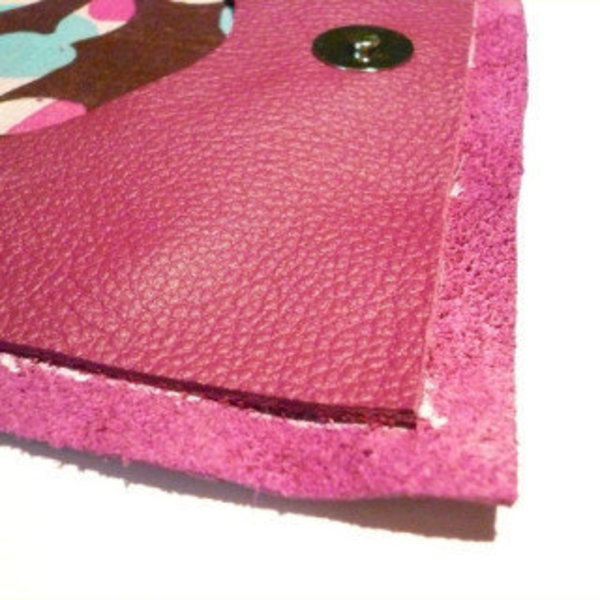 POMELO étui en cuir véritable- Préparation à la couture