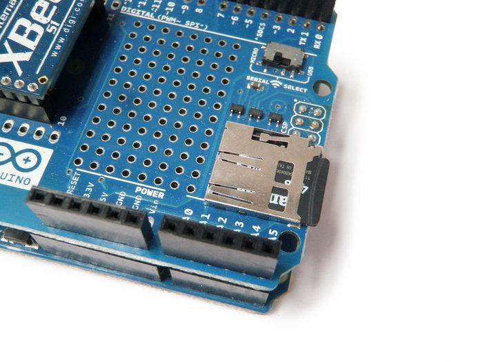 Le module Wifi Arduino- préparez la carte SD !