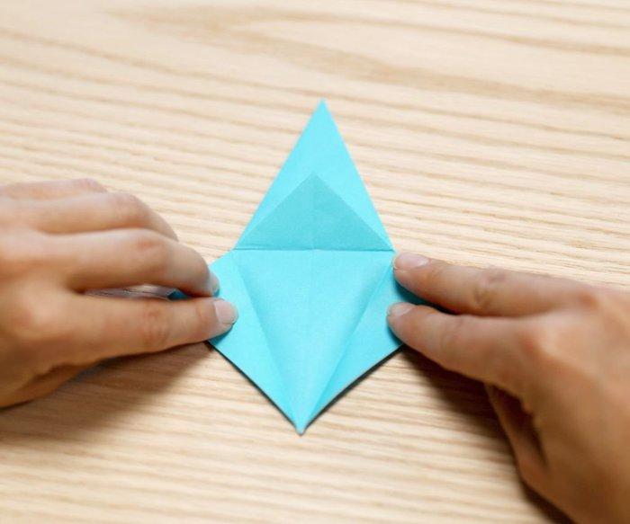 Cygne en origami- On répète !