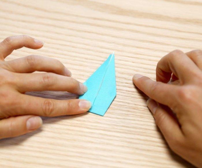 Cygne en origami- Pliage en livre
