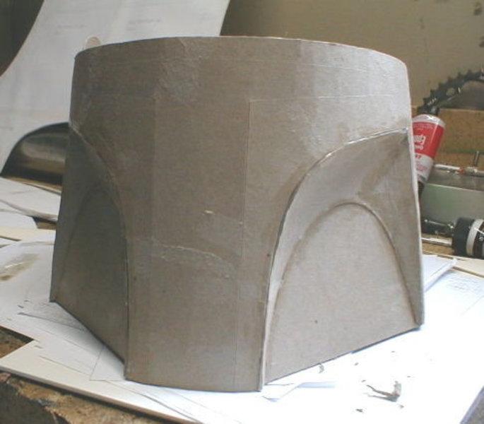 Fabriquer un casque pour un costume/déguisement- Base du casque